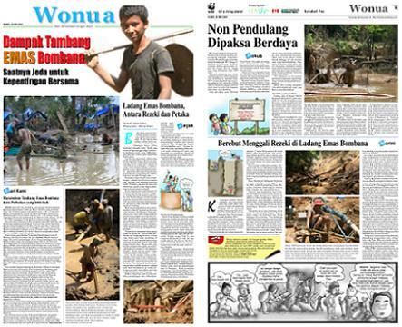 Wonua Kendari Pos 20090528 Dampak Tambang Emas Bombana