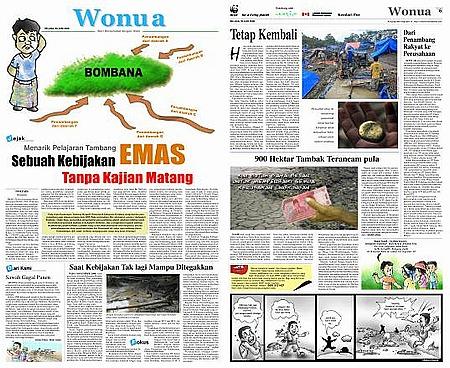 Wonua Kendari Pos 20090630 Menarik Pelajaran Tambang Emas, Sebuah Kebijakan Tanpa Kajian Matang