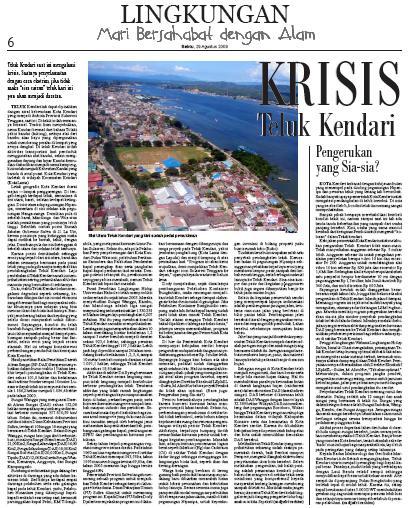 Link090829 Krisis Teluk Kendari